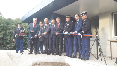 Inauguration extension Gendarmerie